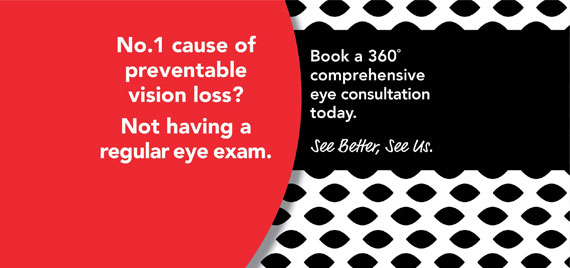 Book your 360° comprehensive eye consultation with us today.